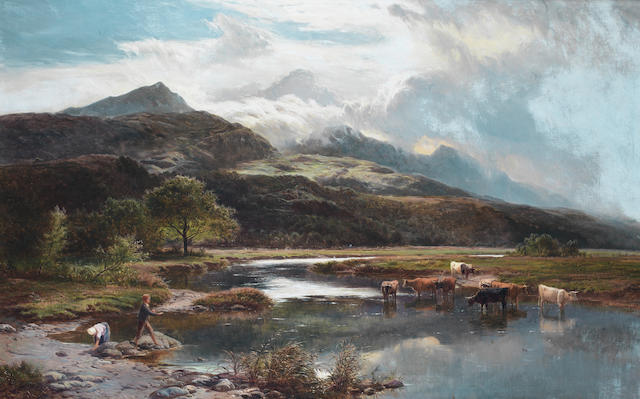 Sidney Richard Percy (British, 1821-1886) Glaslyn