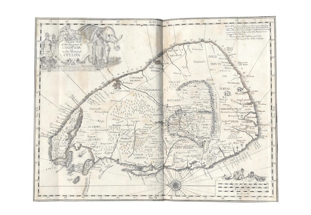 CEYLON. KNOX (ROBERT) An Historical Relation of the Island Ceylon in the East-Indies, 1681; and another
