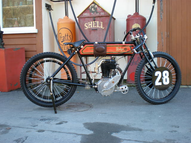 1911 Rudge 499cc Whitworth Frame no. 632922 Engine no. 1504