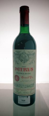 Pétrus 1987 (1)