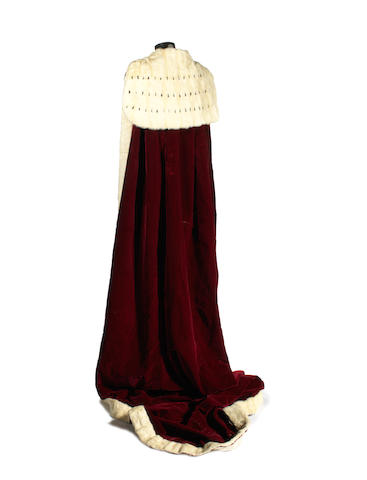 A formal robe for a Countess,