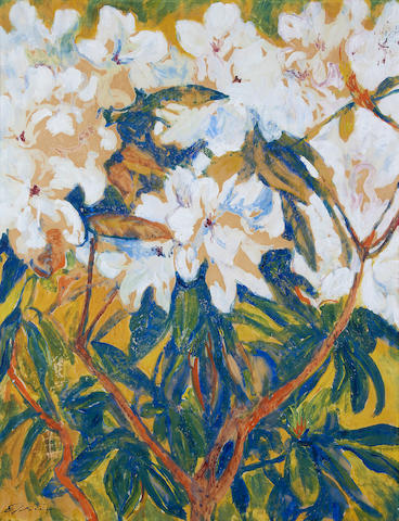 Sir Jacob Epstein (British, 1880-1959) Magnolias
