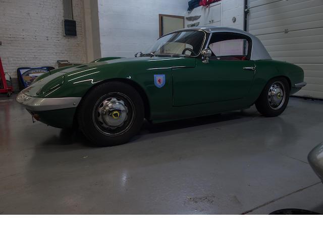1963 Lotus Elan LHD avec hardtop # 1698