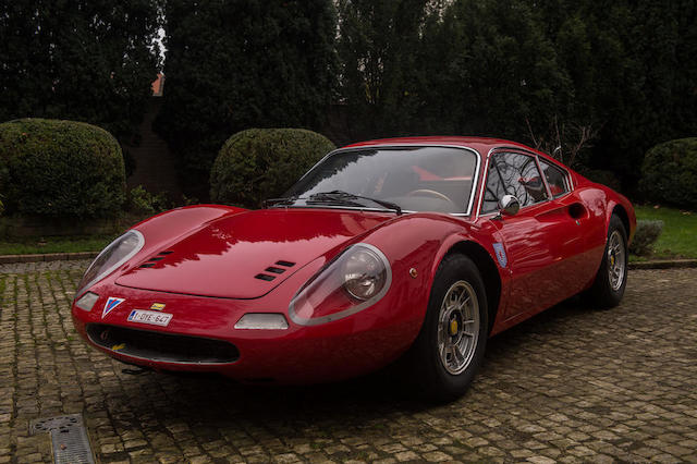 1970 Ferrari Dino 246GT Berlinette  Chassis no. 01164 Engine no. 7536
