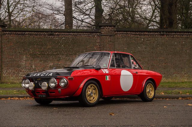 1969 Lancia Fulvia Coupé Rallye 1.6 HFS  Chassis no. 818.540.001578 Engine no. 2264676