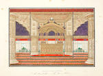A series of 31 paintings by Ghulam 'Ali Khan (fl. 1817-55), consisting of views of monuments in and around Delhi, and including four portraits of the last Mughal Emperor Bahadur Shah II (reg. 1837-58) and his sons, in its original leather-covered presentation box Delhi, circa 1852-1854, three paintings dated November 1852(32)