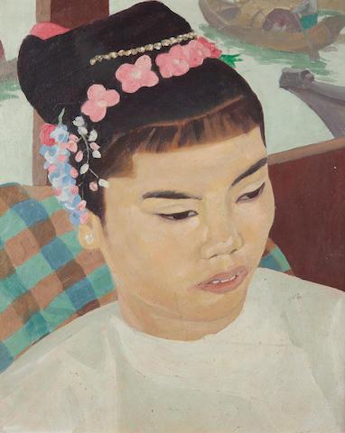 Dod Procter R.A. (British, 1892-1972) Burmese Girl
