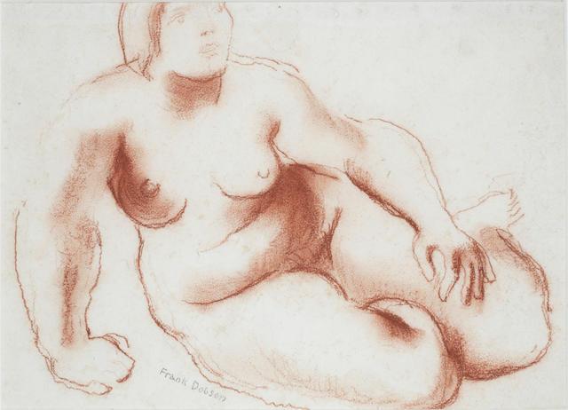Frank Dobson Study for terracotta