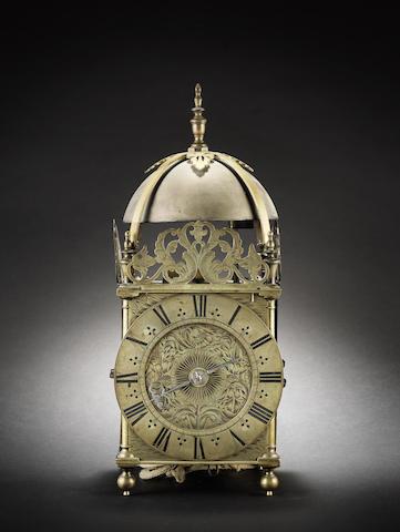 A late 17th century lantern clock Richard Ames, London