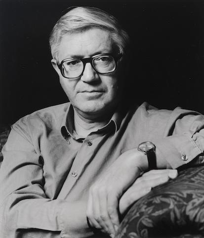 PORTER, PETER (1929-2010, Australian-born poet) PORTRAIT BY GRANVILLE DAVIES, [1985] (printed later)