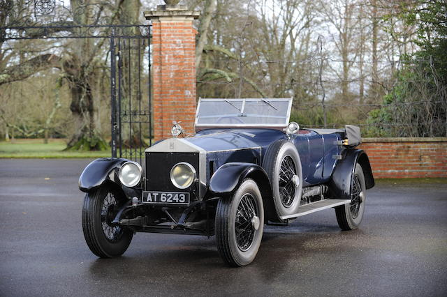1921 Rolls-Royce Silver Ghost Tourer, Chassis no. 34 AG