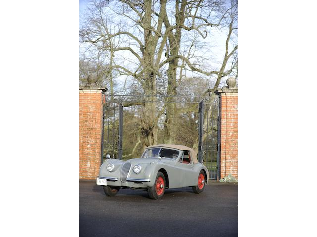 1953 Jaguar XK120 Drophead Coupe, Chassis no. S677020