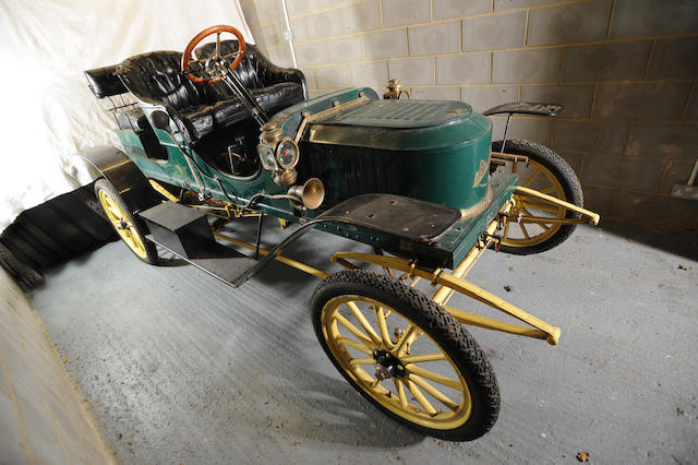 Ex-William Harrah,1909 Stanley modèle E2 10 HP Runabout  Chassis no. 4852