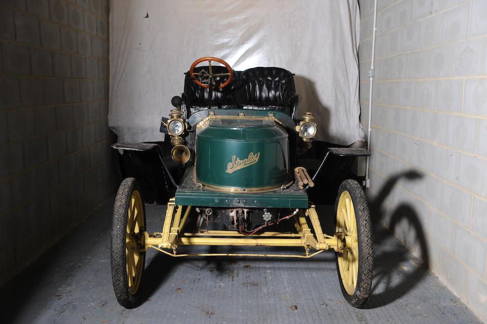 Ex-William Harrah,1909 Stanley modèle E2 10 HP Runabout  Chassis no. 4852