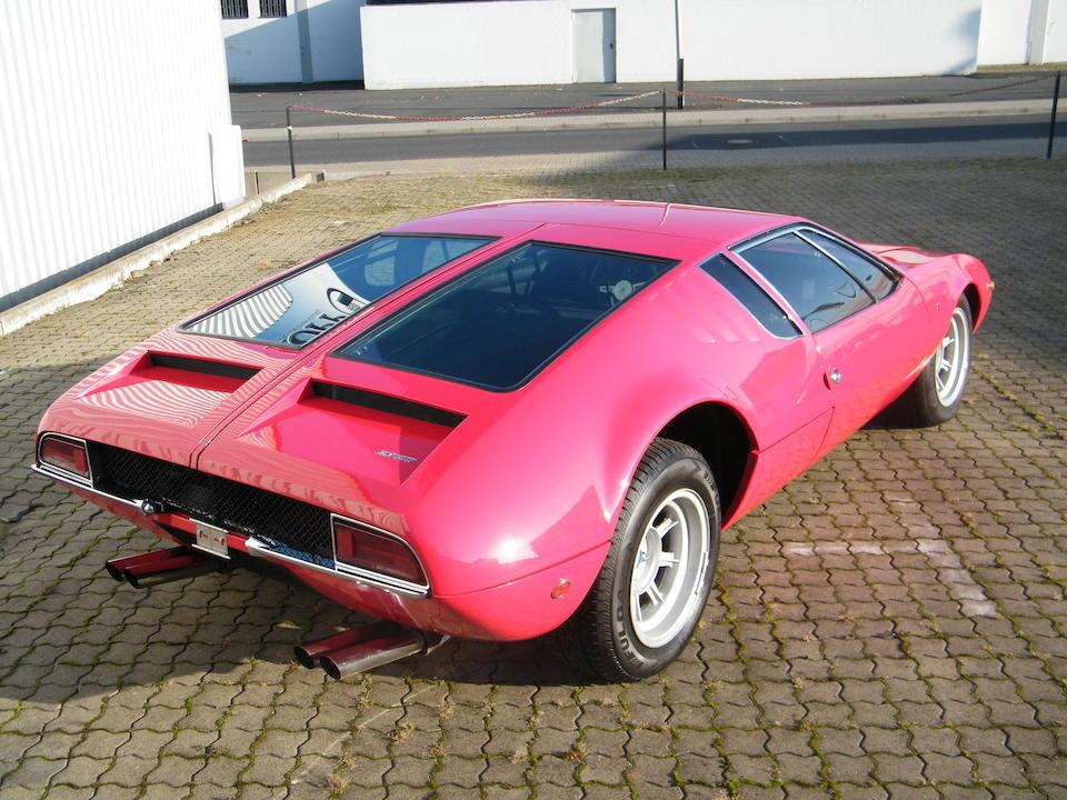1970 De Tomaso Mangusta Coupé  Chassis no. 8MA1120