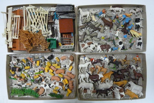 Britains Plastic Farm and Zoo Animals 400 approx.