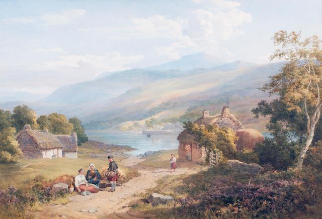 John Henry Mole (British, 1814-1886) watercolour