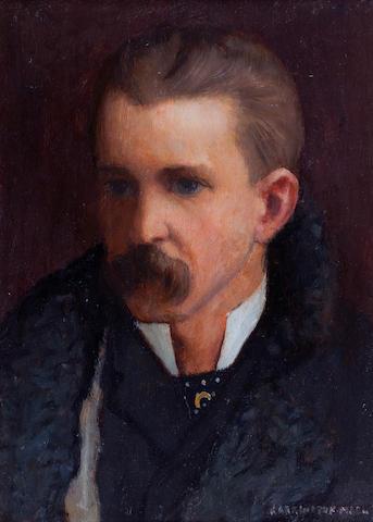 Harrington Mann (British, 1864-1937) Self Portrait
