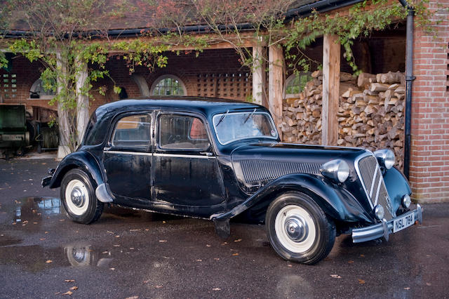 1949 Citroën Light Six Saloon, Chassis no. 691386