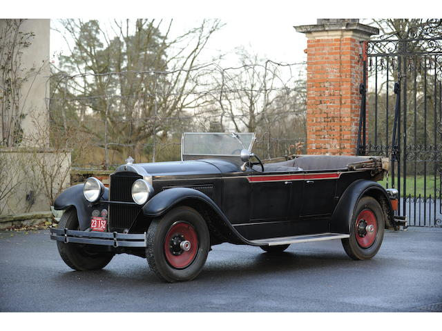 1929 Packard Touring, Chassis no. 265757
