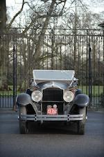 Propriété de la même  famille depuis son origine,1929 Packard Standard Eight modèle 633 Phaëton cinq places  Chassis no. 265757 Engine no. 266631