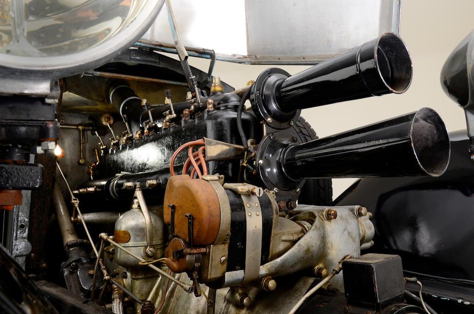 Ex-Dr Gérald Rolph, autrefois exposée au Briggs Cunningham Auto Museum,1927 Renault six cylindres torpédo double phaëton  Chassis no. 116 Engine no. 93A