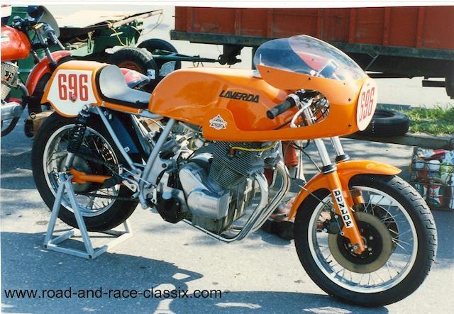 1974 Laverda 750cc Frame no. 17137