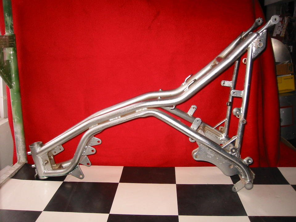 The ex-Larry Strung,1974 Laverda 750SFC Production Racing Motorcycle Frame no. 17137 (see text)