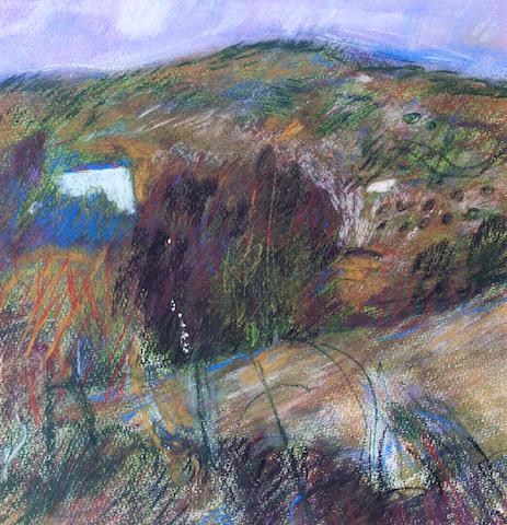 John Byrne (British, born 1940) Roadside Landscape, Perugia