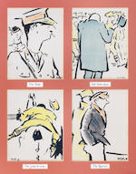 After Francis Campbell Boileau Cadell Series of prints from the Jack and Tommy Series