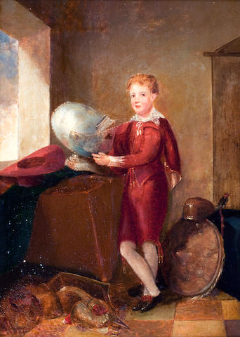 Scottish School, (19th century) Portrait of Johnny Lockhart