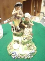 Three Staffordshire figures 19th century