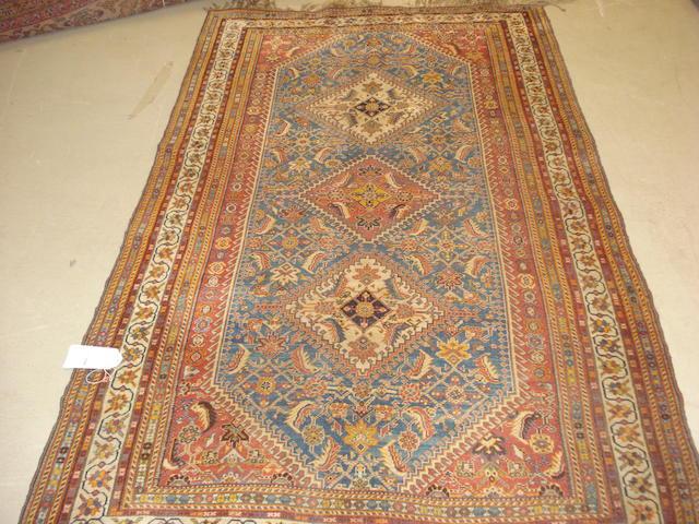 A Kashgai rug, South West Persia, 246cm x 144cm