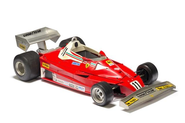 A 1977 Niki Lauda Ferrari 312T2 promotional model by Polistil for Toschi, Italian,