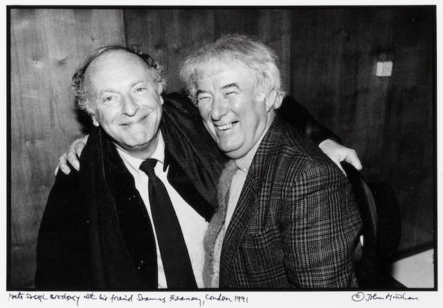 BRODSKY, JOSEPH (1940-1996, Russian poet) and SEAMUS HEANEY (<i>b</i>. 1939)