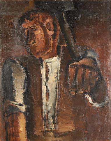 Josef Herman R.A. (British, 1911-2000) Miner