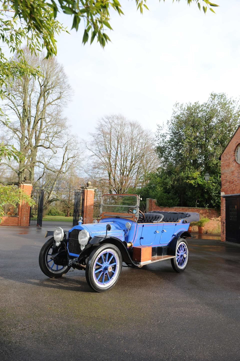 Autrefois dans la collection William Harrah,1916 Packard Model 1-25 Twin Six Touring cinq places  Chassis no. 84230