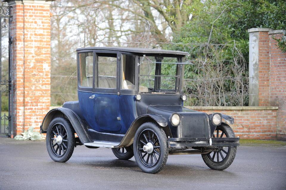 1928 Detroit Electric Model 95 Type 24B coupé de Ville  Chassis no. 13295