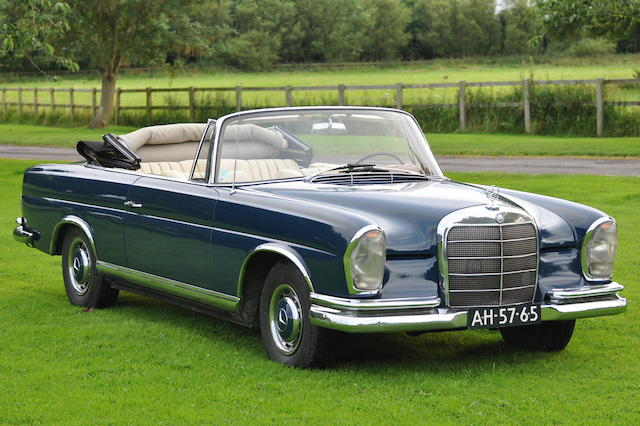 1965  Mercedes Benz  220SE Cabriolet  Chassis no. 11102110076385