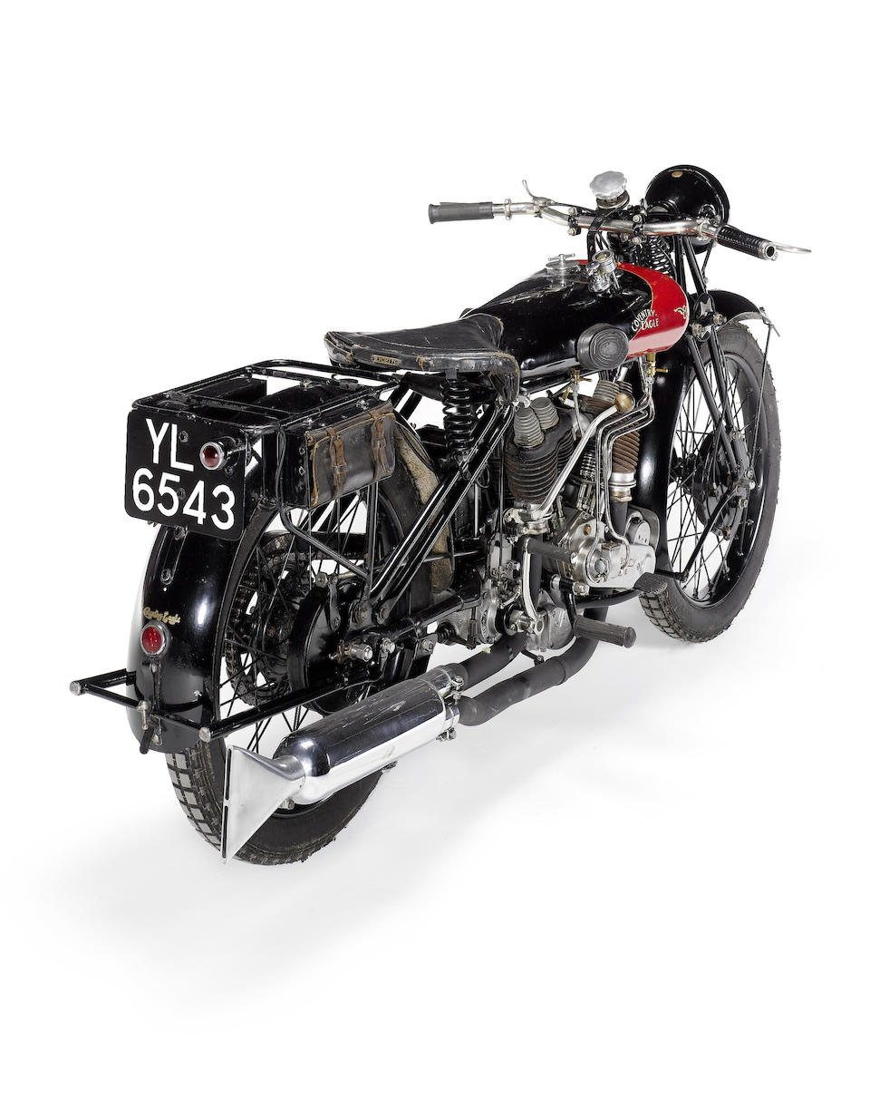1925 Coventry-Eagle 980cc Flying-8 Sidevalve Frame no. 36244 Engine no. KTC/U 13585/VSC