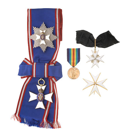 The Orders and Medal to Major General R.H.Charles, ********,
