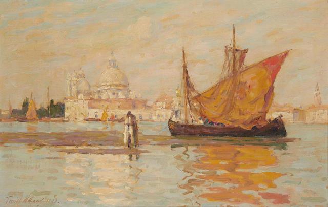 Terrick John Williams, RA (British, 1860-1936) 'Santa Maria Della Salute, Venice'