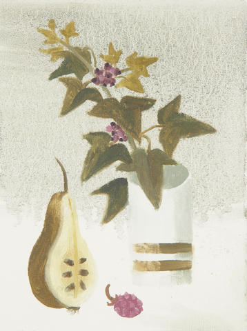 Mary Fedden R.A. (British, 1915-2012) Half a pear