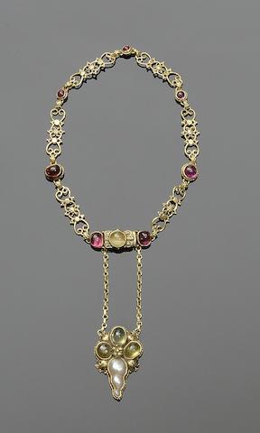 John Paul Cooper: An Arts and Crafts gem-set bracelet