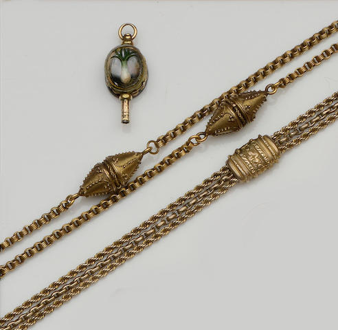 A collection of Victorian and later jewellery