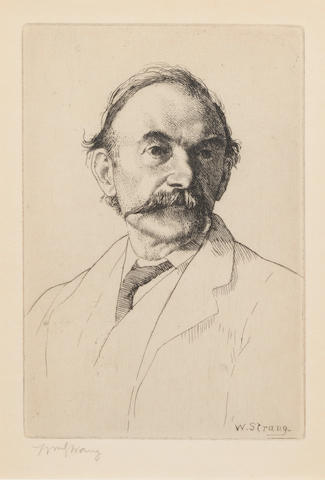 HARDY, THOMAS (1840-1928), PORTRAIT BY WILLIAM STRANG (1859-1921), [1894]