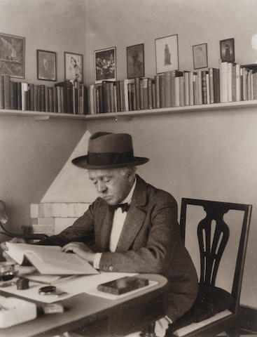 BEERBOHM, MAX (1872-1956) PORTRAIT BY AN UNKNOWN PHOTOGRAPHER, [1920s]