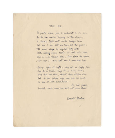 BLUNDEN, EDMUND  (1896-1974)
