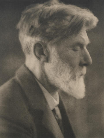 BRIDGES, ROBERT (1844-1930) PORTRAIT BY ALVIN LANGDON COBURN, [1913]