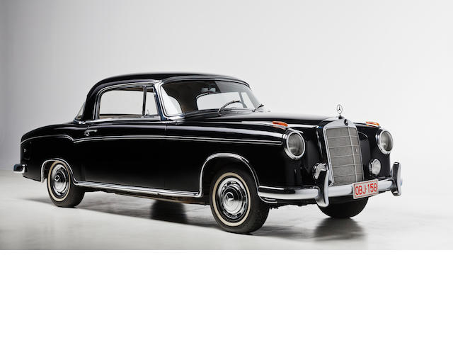 1957  Mercedes-Benz  220S Coupé  Chassis no. to be advised